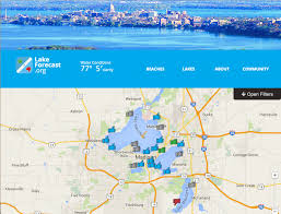 Uw Madison Map New Online Tool Puts Madison Lakes On The Map U2014 And In The Forecast