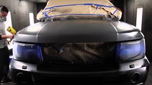 land rover range rover sport matte black custom sprayz plasti dips range rover sport flat black youtube