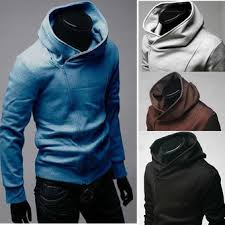 men u0027s fashion slim fit jackets hoodie sweatshirt coat w14 us