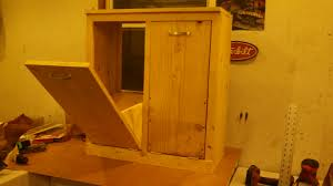 kitchen trash cabinet pull out tilt out trash can cabinet diy best cabinet decoration