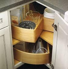 chic corner kitchen storage solutions kitchen corner cabinet
