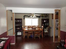 picture of load bearing beam between living and dining room