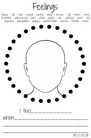 expressing feelings worksheets worksheets
