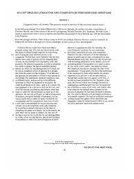 sample ap literature essays english essays ap english essays
