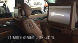 jeep summit 2017 jeep grand cherokee summit platinum youtube