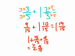 Subtracting Mixed Fractions Worksheets Adding Mixed Numbers And Fractions With Regrouping Youtube