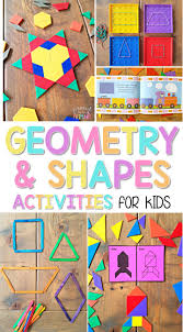 Geometry Map Project Geometry And Shapes Activities For Kids Proud To Be Primary