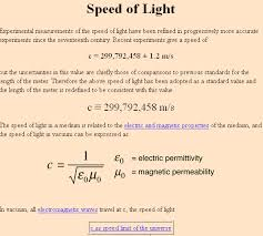 what is the speed of light what would be the speed of particle which is travelling at speed of