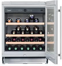 Wine Storage Cabinet Liebherr Wu4500 24 Inch Undercounter Wine Cabinet With 3 3 Cu Ft