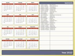 2015 yearly calendar templates contegri com template excel