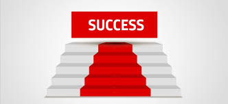 steps to success presentation template sharetemplates