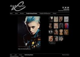 websites for makeup artists new logo design and web design for 9thwave design