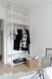 Wardrobe Ideas by Open Closet Ideas For Small Spaces