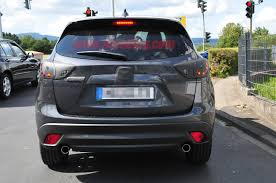 mitsubishi mazda lightly revised mazda cx 5 caught by spy cameras the truth about