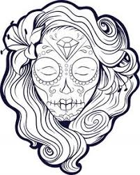 printable skulls coloring pages for kids az coloring pages