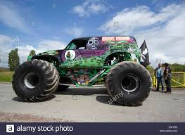 monster trucks grave digger monster jam world champion john seasock with u0027grave digger u0027 the