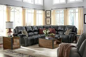 Sectional Sofa With Recliner Flexsteel Latitudes Mackay Four Piece Power Reclining Sectional