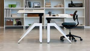 Stand Desks by Sit Stand Desks Dragonfly Office Interiors Uk Office Furniture