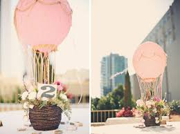 Table Decorating Balloons Ideas Head Over Heels For Air Balloon Wedding Ideas Air