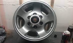 lexus wheels peeling lets see those painted wheels page 4 ih8mud forum