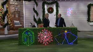 santa u0027s best choice of pre programmed led holiday light show icon