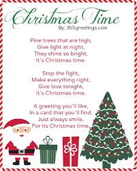 Christmas Poems For Kids Celebrations Christmas Blessings And