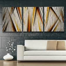 Home Decor Metal Wall Art Aqua Curves