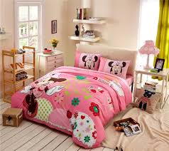 minnie mouse bedroom set full size in artistic minnie mouse
