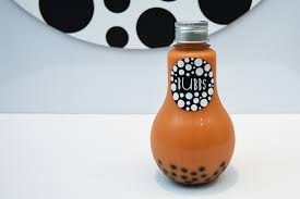 light bulb bubble tea bubbs bubble tea in light bulbs bottles brightened up our day
