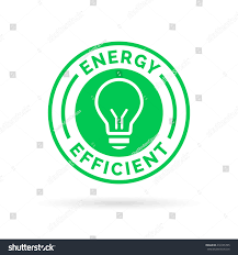energy efficient green eco icon lightbulb stock vector 418165705