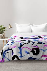 amy sia zest black and white comforter deny designs home