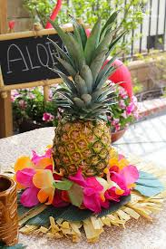 How To Make A Flower Centerpiece Arrangements by Best 25 Luau Centerpieces Ideas On Pinterest Luau Party