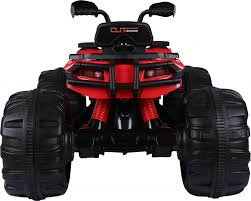 jeep cars red rocket predatour extreme kids 24v ride on electric quad jeep car