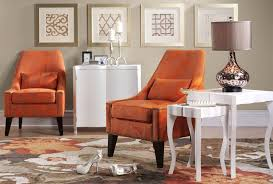 Accent Living Room Chair Burnt Orange Living Room Furniture Nice Orange Living Room Chairs