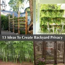 Backyard Privacy Ideas 13 Attractive Ways To Add Privacy To Your Backyard Homestead