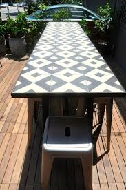 Stone Top Patio Table by Best 20 Tile Top Tables Ideas On Pinterest Tile Tables Garden