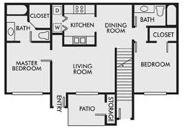 two bed two bath floor plans 2 beds 2 baths apartment for rent in gulf shores al sweetwater