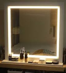 makeup mirror with led lights led lighting mirror for make up or starlet lighted vanity mirror ebay