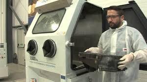 heated parts washer cabinet aquajet high pressure washing youtube