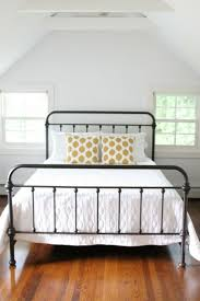 Iron Bedroom Furniture Bedroom Infabbrica Ethos Wrought Iron Bed With Tufted Headboard