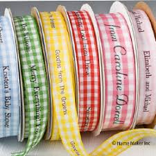 printed ribbon personalized ribbons name maker