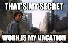 On Vacation Meme - funny leaving work for vacation meme jokes quotesbae