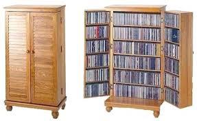 Oak Cd Storage Cabinet Cd Storage Cabinet House Of Designs