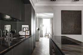 pure kitchen design meets classic architecture
