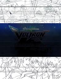 voltron coloring book project