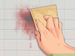 how to clean wall stains 3 ways to clean blood from walls wikihow