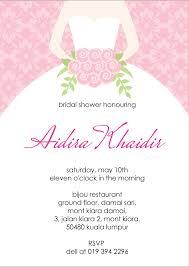 Sample Of An Invitation Card Bridal Shower Invitation Cards Samples Vertabox Com