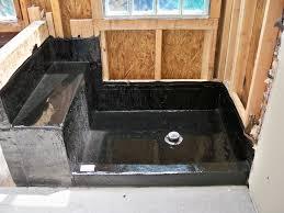 custom shower pans kits design helpful shower pan kit