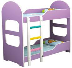 Cartoon Bunk Bed by Safety Original Wooden Kids Double Deck Bed Kids Bunk Bed Qx B6704