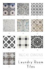 Kitchen With Tile Floor Best 25 Laundry Room Floors Ideas On Pinterest Landry Room